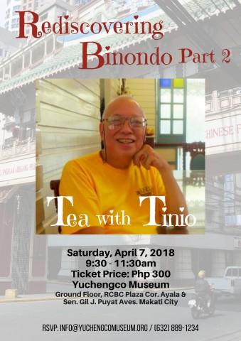 "Rediscovering Binondo Part 2 with Martin ""Sonny"" Tinio Jr. @ Yuchengco Museum"